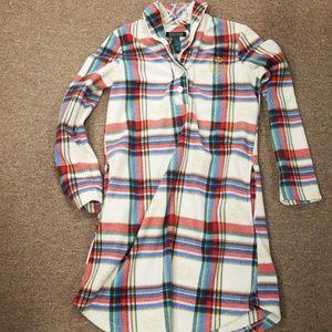 Lauren Ralph Lauren Flannel Night Shirt